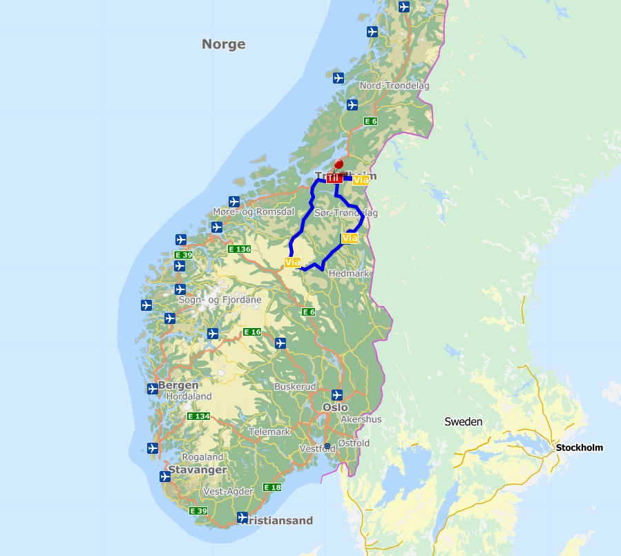 Itinerary - Wild Norway